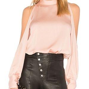 1.STATE cold shoulder blouse